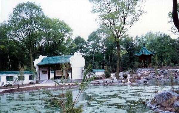 小型古典园林平面图,古典园林景石,古典园林门