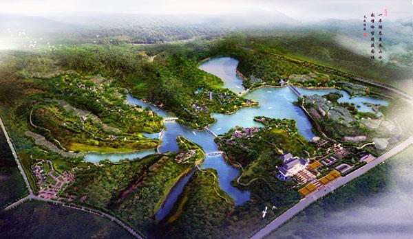 第八届中国(重庆)国际园林博览会 重庆 市 园博园 仿古物