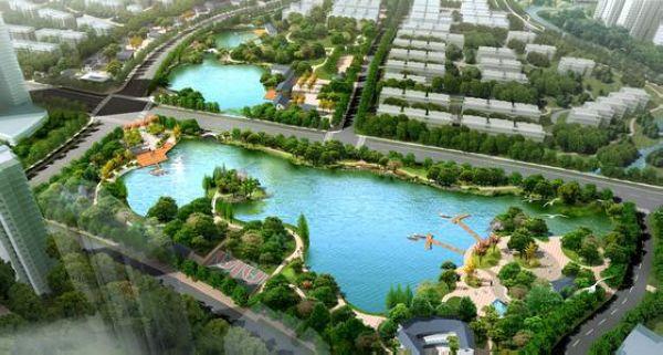 生活区包括宿舍楼,食堂,小游园等,总体环境特征及要求是宁静休闲和